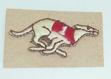 Greyhound Bus Lines Patch Racing Derby Lane Vintage Dog Embroidery Uniform