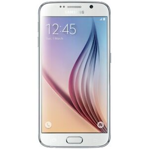 NEW WHITE T-MOBILE/SPRINT 32GB SAMSUNG GALAXY S6 G920P SMART PHONE JU71 B