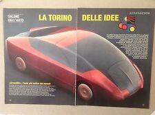 ARTICOLO Torino salone dell'auto vari carrozzieri - -  1996