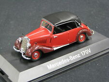 Schuco Mercedes-Benz 170 V Cabriolet Softtop 1:43 Red (JS)