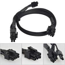 For EVGA SuperNOVA 8 Pin to 8(6+2) pin + 6pin PCI-E VGA Power Supply Cable 18AWG
