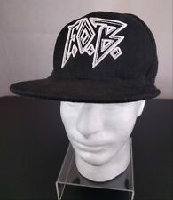 VTG Fall Out Boy Black Snapback Hat Adj Ball Cap Embroidered Music Tour  Hipster db499adfe710