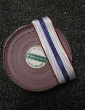 1 meter full size 1977 silver Jubilee medal ribbon