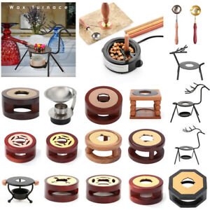 Retro Deer Shape Wax Seal Stamp Stick Furnace Stove Warmer Melting Glue Furnace