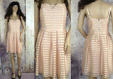 Gestreifte knielange H&M Damenkleider