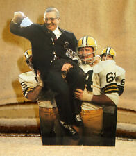 "Vince Lombardi Green Bay Packers Coach NFL Tabletop Display Standee 9"" Tall"