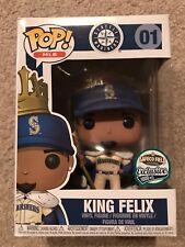 Seattle Mariners 2017 Funko Pop King Felix Hernandez Cream Jersey Variant Sga