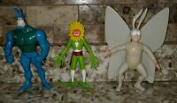 "Bandai The Tick Action Figure lot of 3 1994 5.5"" to 6"" Animated Series"