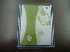 KELLY OLYNYK IMMACULATE COLLECTION CARD #5 PRINTING PLATE CARD YELLOW PLATE 1/1