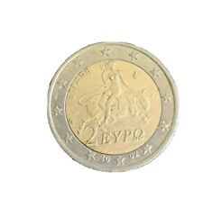 More details for very rare 2 euro coin - greece 2002
