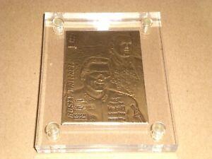 Rusty Wallace 1994 Press Pass Highland Mint-Bronze card #2257/5000 COA Nascar