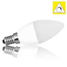 LED 6 Watt E14 Leuchtmittel warm weiß 470lm Stufen Dimmer Glühbirne EEK A Kerze
