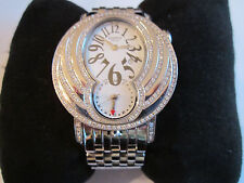 PIPPO ITALIA SS & DIAMONDS NEXTIME DUAL-TIME AUTO MOVEMENT - WHITE FACE - BOX