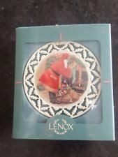 Lenox Twas The Night Before Christmas Ornament in box Santa Fill Stockings