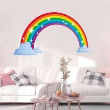 Rainbow Wall Sticker Kids Wall Decal Nursery Home Décor Bedroom Wall Décor