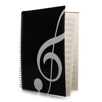 Blank Sheet Music Score Manuscript Paper / Staff Paper / Musicians Notebook