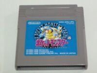 Pokemon Gameboy  Nintendo Blue Japan GB From Japan