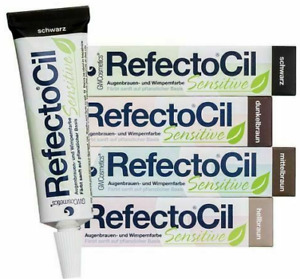 RefectoCil Sensitive Eyebrow and Eyelash Tint Dye Henna 15ml *CHOOSE YOUR SHADE*