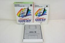SUPER GAME BOY Item Ref/bcb Super Famicom Nintendo Japan Boxed Game sf