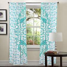 Mandala Bohemian Room Decor Window Curtains Drape Balcony Curtain Boho Net Sheer