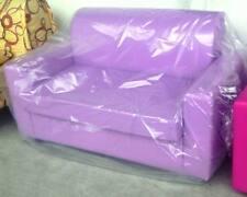 Divano due 2 posti Divanetto Lillà tessuto ecopelle sofà poltrona relax sedia