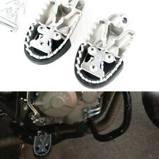 1Pair Cross-country Bike Off-road Stainless Steel Foot Pegs Forefoot Pedals 8MM
