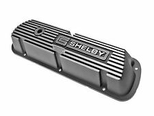 Mustang Aluminum Valve Covers with Shelby Logo (Pair) 6A582-S
