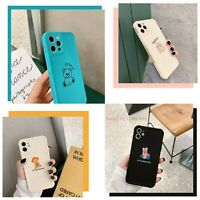 Cute Mini Animal Shockproof Case For iPhone 8 PLUS X XR 11 12 MINI PRO MAX