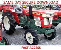 Yanmar YM135-155 YM195-240 YM276 Service Manuals - FAST ACCESS