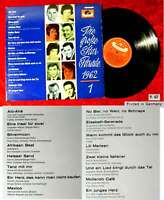 LP Große Star Parade 1962/1 (Polydor LPHM 46 613) Peter Kraus Freddy Mina....