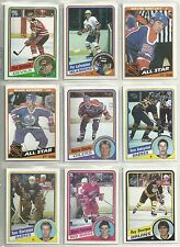 1984-85 Topps 165-card Hockey Set   Steve Yzerman ROOKIE  !!