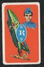 Swap Playing Cards 1 Japanese TV Series Thunderbirds Anime 3/4 Size A53