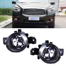 2x Links + Rechts Nebelleuchte Nebelscheinwerfer Nebellampe NI2592117 Fit Nissan