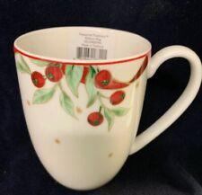 Lenox Treasured Traditions Ribbons Mug**NEW**Hard To Find!
