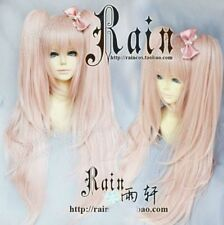 Danganronpa Dangan-Ronpa Junko Enoshima Cosplay Wigs with ponytails Hair wig