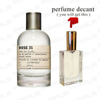 Rose 31 by Le Labo Perfumes EDP Luxury Unisex Niche Decanted Spray Perfume