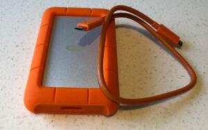 Lacie Hard Drive 4T USB-C
