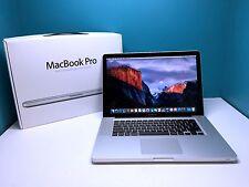 MacBook Pro 15 inch Apple Laptop / 1TB HD / Warranty / Core i5 2.53Gh / OSX 2015