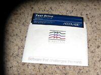 "Test Drive Apple IIe & IIc Game 5.25"" disk - Tested"