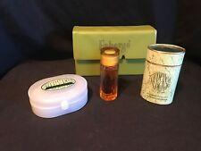 Vintage Set Fabergé Aphrodisia Cologne Powder Talcum And Soap - Box (A012)