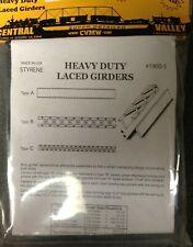 "CENTRAL VALLEY 1900-5 Heavy Duty Lace Bridge Girders 30"" HO scale  MODELRRSUPPLY"