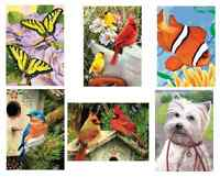 PICK ANY A5 PAINTING BY NUMBERS MINI KITS, BRUSH & ACRYLIC PAINTS NEW DESIGNS