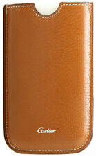 MODEL L3001109 | BRAND NEW AUTHENTIC CARTIER LEATHER iPHONE CASE