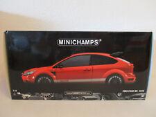 ( GOL ) 1:18 Minichamps Ford Focus RS rot  NEU OVP