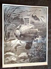 Battello lavoratore sottomarino nel 1903 di Giuseppe Pino