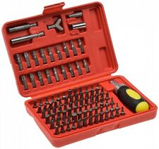Bitsatz 100 Bits und Ratschen-Schraubendreher Bit-Set Werkzeug inkl. Box
