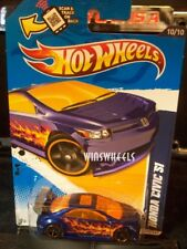 HOT WHEELS 2012 #160 -1 HONDA CIVIC BLUE AMER SCAN CA