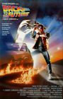 24x36 Back To The Future Movie Poster Michael J Fox Delorean