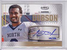 2013 SAGE HIT Autographs Gold #A123 Aaron Dobson Auto 109/250