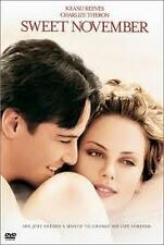 SWEET NOVEMBER  DVD REG 1 KEANU REEVES CHARLIZE THERON ROMANCE DRAMA NEW+SEALED